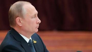 Kreml: Putin przyjął do wiadomości słowa Trumpa o Rosji wypowiedziane w Warszawie