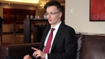 Szef MSZ Węgier: zawetujemy każdą próbę sankcji wobec Polski