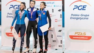 Natalia Maliszewska ma już trzy złote medale MP w short tracku