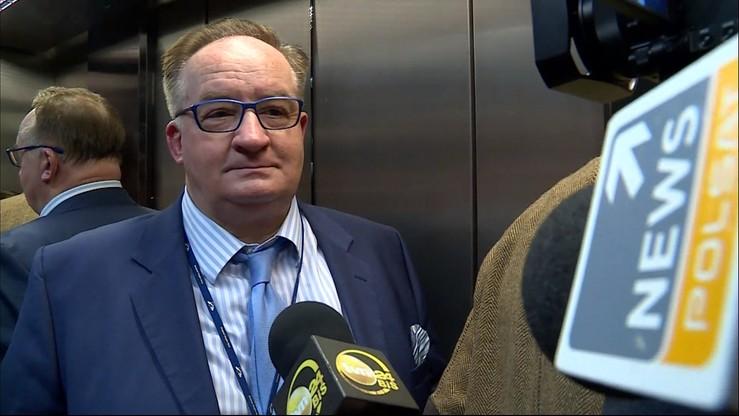 """Saryusz-Wolski """"złapany"""" w windzie. """"No comment"""""""