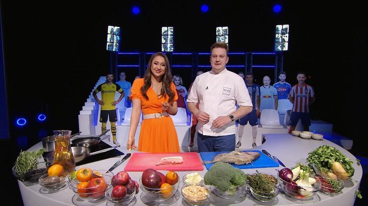 Kuchnia Mistrzów: Wieprzowina z mango kontra piotrosz z brokułem i kaparami