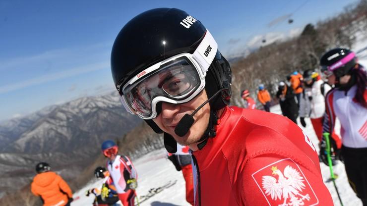 Pjongczang 2018: Krężel 8., Sikorski 15. w alpejskim zjeździe