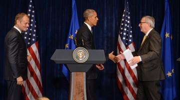 Obama po spotkaniu z Tuskiem i Junckerem: bezpieczeństwo Stanów Zjednoczonych i Europy jest niepodzielne