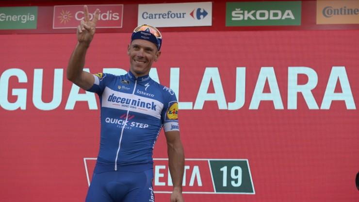 Vuelta a Espana: Gilbert wygrał etap. Spadek Majki