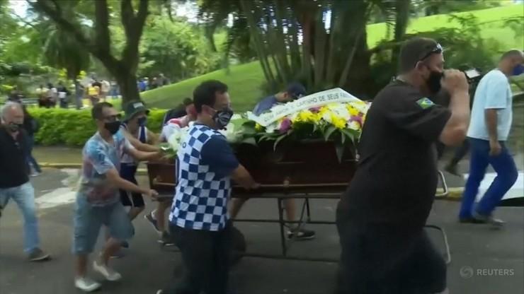 Zdjęcie z pogrzebu Freitasa