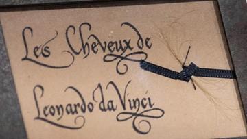 Domniemane włosy Leonarda da Vinci zaprezentowane w 500-lecie jego śmierci