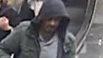 Atak w Sztokholmie - opublikowano zdjęcia poszukiwanego mężczyzny