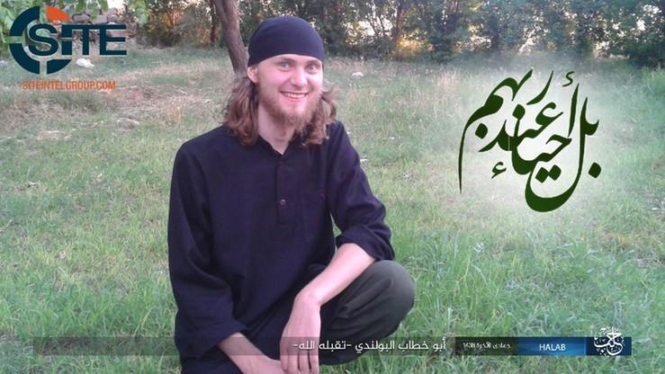 Polak z Państwa Islamskiego zginął w rejonie Aleppo