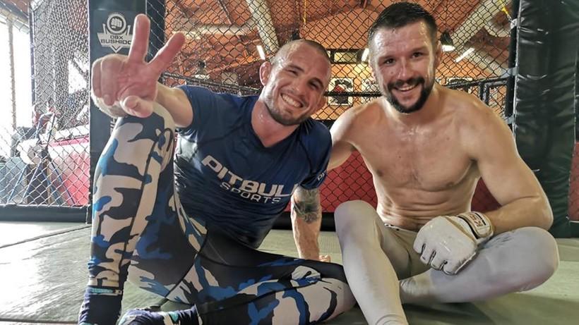 Borys Mańkowski i Mateusz Gamrot promowani na czarne pasy w brazylijskim jiu-jitsu