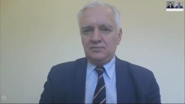 """""""Słowa Żalka w pełni się bronią""""; """"słowa Czarnka nie powinny paść"""". Gowin o wypowiedziach nt. LGBT"""