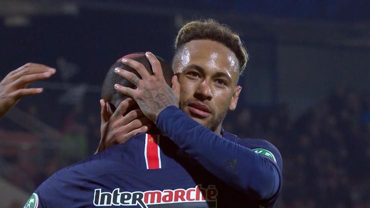 Puchar Francji: Wysokie zwycięstwo PSG