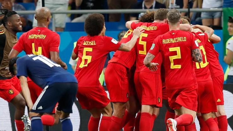 MŚ 2018: Belgowie z piekła do nieba! Gol w ostatniej akcji pogrążył Japonię