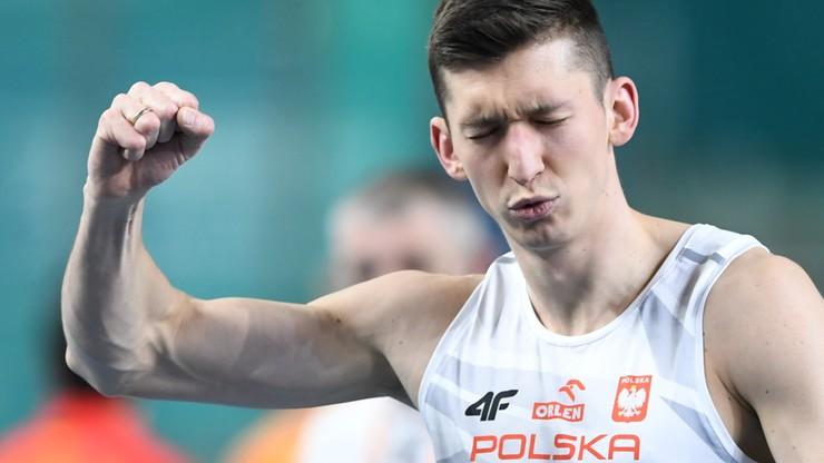 HME Toruń 2021: Damian Czykier pobiegnie w finale 60 m ppł
