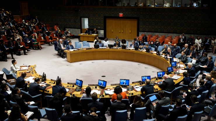 USA zawetowały projekt rezolucji RB ONZ ws. międzynarodowej ochrony Palestyńczyków