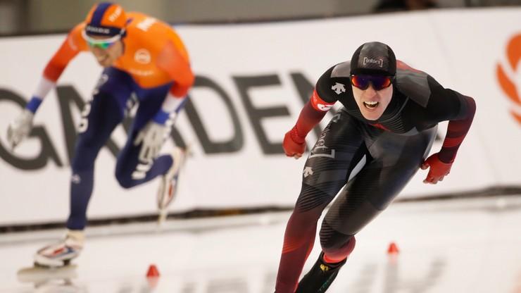 MŚ w łyżwiarstwie szybkim: Wygrana Holandii po dyskwalifikacji Kanady