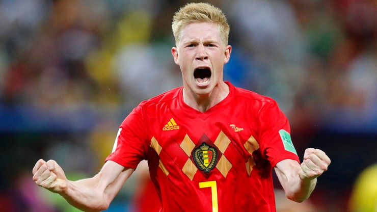 MŚ 2018. Brazylia - Belgia: De Bruyne piłkarzem meczu