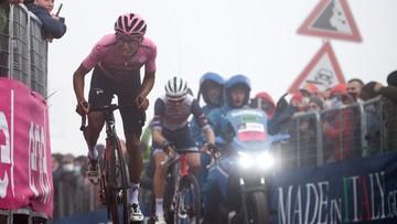 Giro d'Italia: Duża kraksa w peletonie, 15. etap przerwany