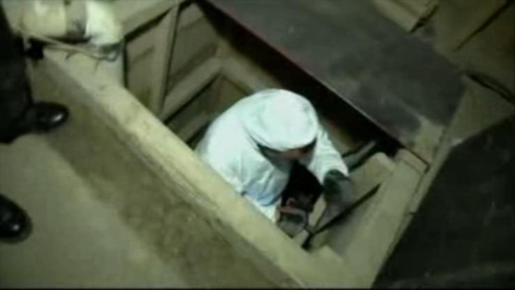 Meksykańska policja odkryła tunel do przemytu narkotyków. Znalazła w nim 16 osób i 10 ton marihuany