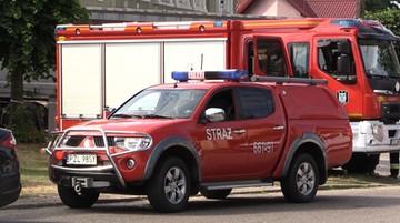 Eksplozja na Targówku. Jedna osoba ranna