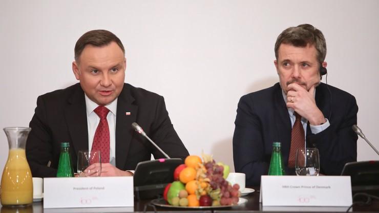 Prezydent liczę na współpracę z Danią przy budowie farm wiatrowych