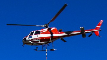 Katastrofa helikoptera we francuskich Alpach