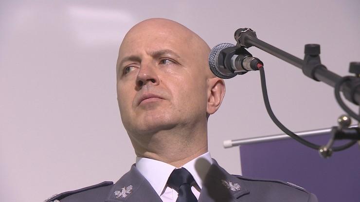 Jarosław Szymczyk ma pozostać na stanowisku komendanta głównego policji
