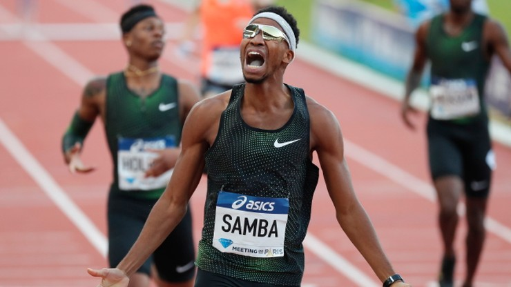 Samba: Ciężko pracuję, aby poprawić rekord świata na 400 m przez płotki