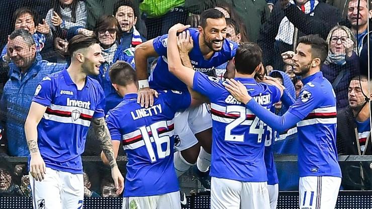 Serie A: Wygrane Sampdorii Genua i Interu Mediolan