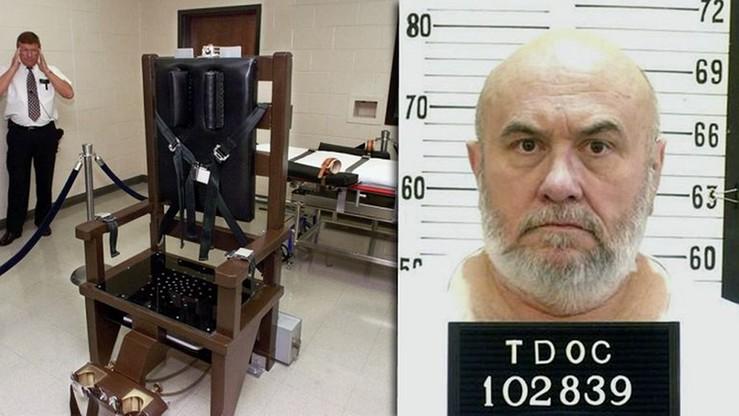USA: zamiast śmiertelnego zastrzyku, wybrał egzekucję na krześle elektrycznym