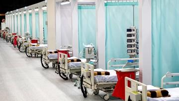 """Szpital tymczasowy w Katowicach ukończony. """"Jest gotowy do uruchomienia"""""""