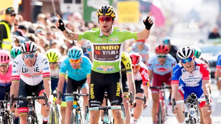 Roglic wygrał etap i zdobył koszulkę lidera Tour de Romandie