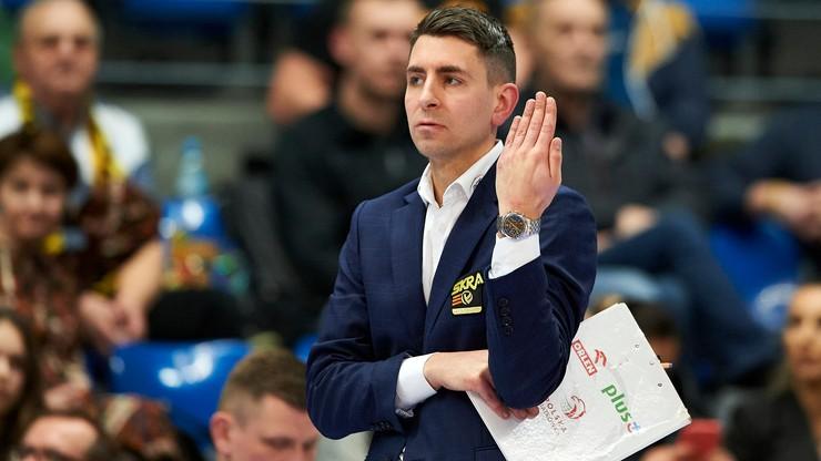 Trener PGE Skry Bełchatów: Przeszliśmy na pracę zdalną