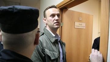 Współpracownik Nawalnego ogłosił strajk głodowy. Wcześniej obaj zostali skazani na areszt