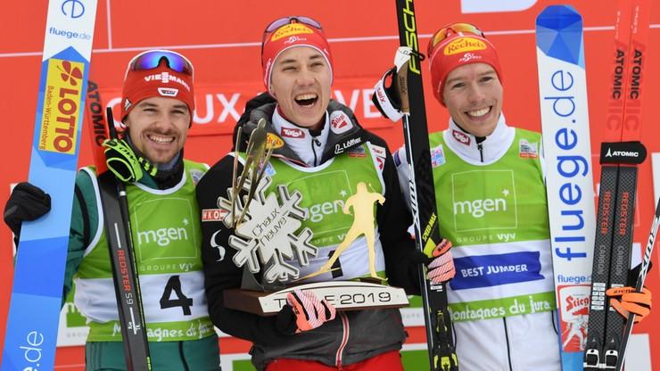 PŚ w kombinacji norweskiej: Zwycięstwo Austriaka Seidla w Chaux-Neuve