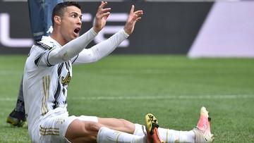 Ronaldo obiektem drwin ekspertów. Wszystko przez zachowanie przy straconej bramce