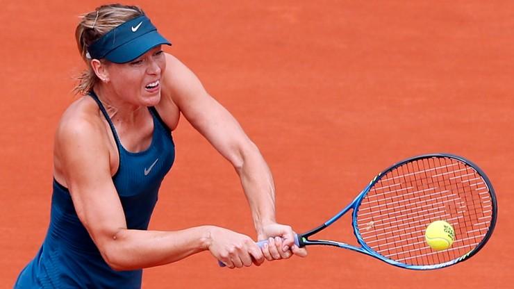 French Open: Szarapowa w godzinę rozbiła Pliskovą