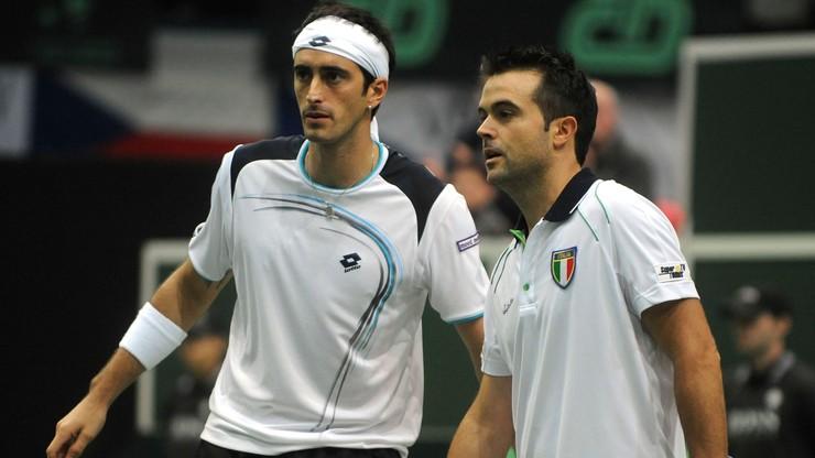 Dwaj włoscy tenisiści zdyskwalifikowani za ustawianie meczów