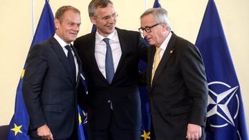 Pierwsza decyzja w ramach szczytu. NATO i UE ogłaszają deklarację o wzmocnieniu współpracy