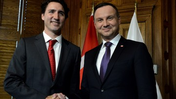 KGHM, wschodnia flanka i TTIP. Rozmowa prezydenta Dudy z premierem Kanady