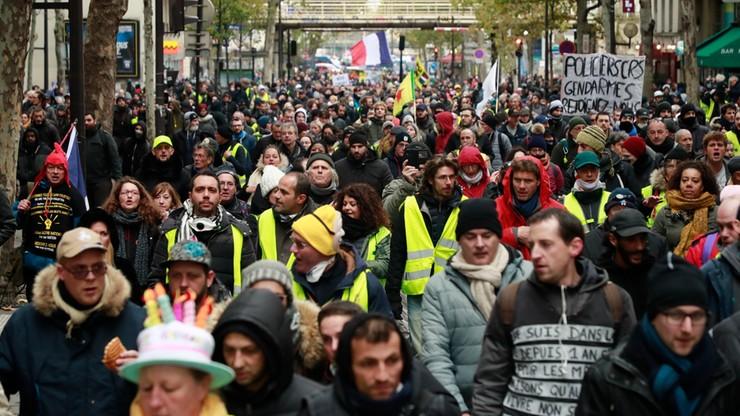 """Wielkie protesty, pełna mobilizacja służb. Dzisiaj rocznica demonstracji """"żółtych kamizelek"""""""