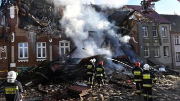 Zachodniopomorskie: wybuch gazu w kamienicy w Mieszkowicach. Jedna osoba ranna