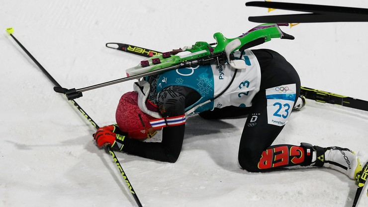 Pjongczang 2018: Polki daleko w biathlonowym sprincie, złoto dla Dahlmeier