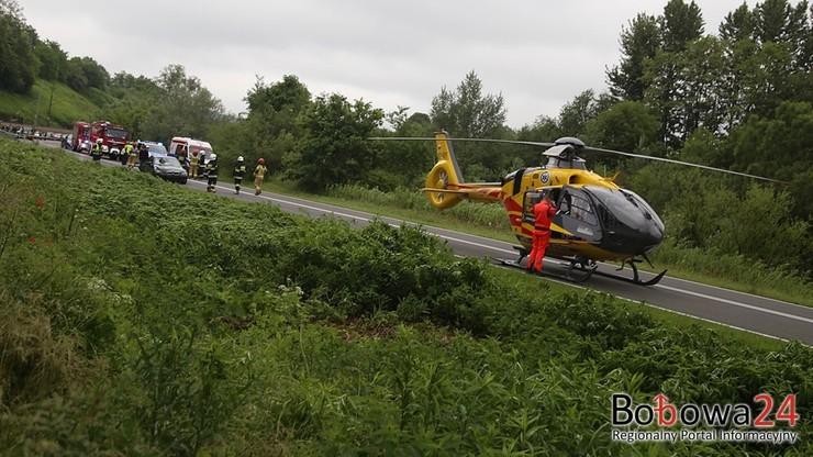 Wypadek w Małopolsce. Nie żyje 14-letni rowerzysta