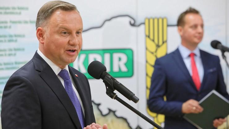 """""""Wierzę, że zostanę wybrany na II kadencję"""". Duda spotkał się z rolnikami"""