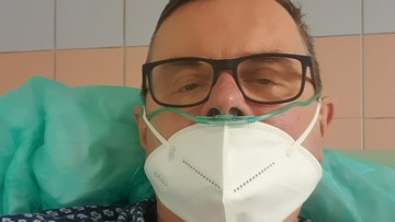 """Poseł z covid opowiedział o pobycie w szpitalu. """"Jestem wdzięczny Polsat News i panu redaktorowi"""""""