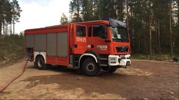 """""""Musimy się przygotować na kolejne pożary"""". Polscy strażacy walczą z ogniem w Szwecji"""