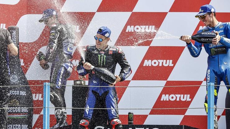 Quartararo najlepszy w Grand Prix Holandii