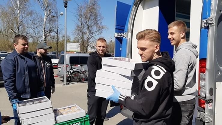 Młode gwiazdy Lecha pomogły szpitalowi