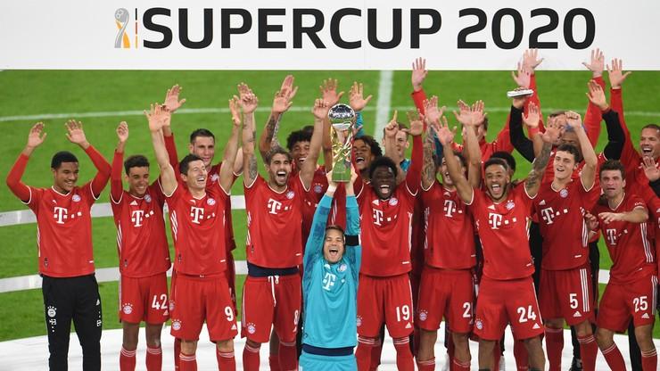 Superpuchar Niemiec: Bayern lepszy od Borussii. Robert Lewandowski i spółka z piątym trofeum w tym roku