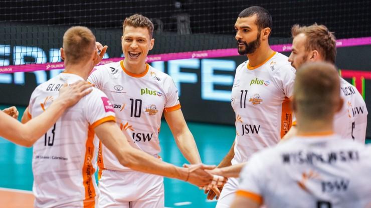 Jastrzębski Węgiel pierwszym półfinalistą PlusLigi